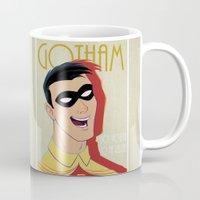 gotham Mugs featuring Gotham #2 by SatrunTwins