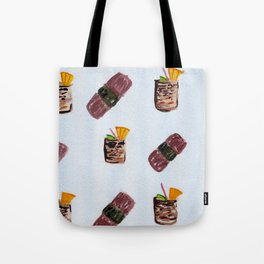 Masubi and Mai Tais Tote Bag