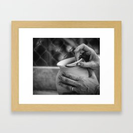 potter and clay 014AFB Framed Art Print