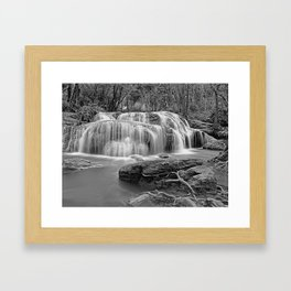 Erawan Falls Kanchanaburi province Thailand Framed Art Print