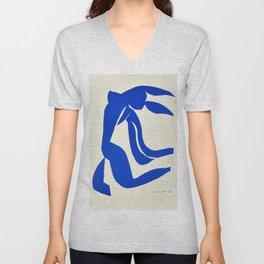 Blue Nude Dancing - Henri Matisse Unisex V-Neck