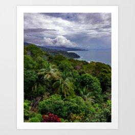 Villas Alturas Costa Rica View Art Print