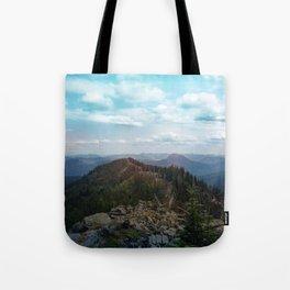 peaks and valleys Tote Bag