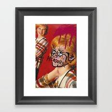 pleasure Framed Art Print