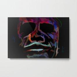 Abstract Rainbow Camouflage III Metal Print