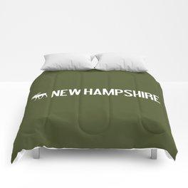New Hampshire Moose Comforters