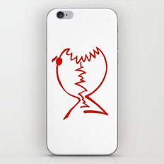 red fish iPhone & iPod Skin