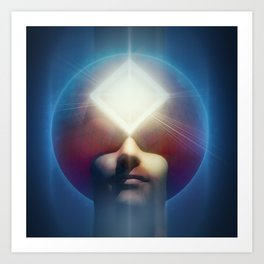 The Telepath Art Print