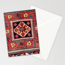 Kurdish Azerbaijan Northwest Persian Bag Face Print Stationery Cards