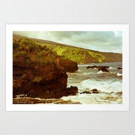 Vintage Maui 5 Art Print