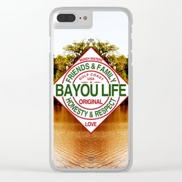 The Bayou Life Homage Clear iPhone Case
