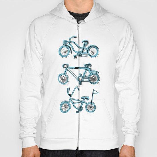 Gonna ride my bike 'til I get home(blue) Hoody