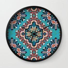 Native American Navajo pattern II Wall Clock