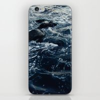 salt water iPhone & iPod Skins featuring Salt Water Study by Teal Thomsen Photography