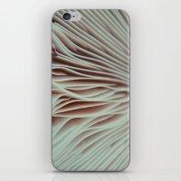 mushroom iPhone & iPod Skins featuring Mushroom by Madison Pethel