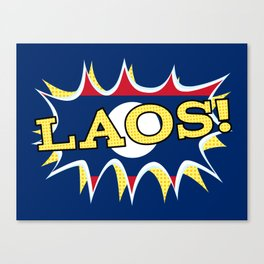Laos Canvas Print