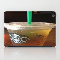 starbucks iPad Cases featuring Starbucks Emma by Amanda Byrnes