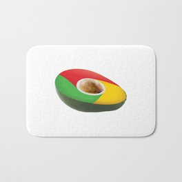 Browser Avacado Bath Mat