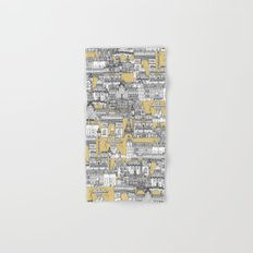 Paris toile gold Hand & Bath Towel