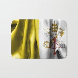 Vatican City Flag Bath Mat