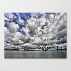 Forth Road Bridge and Sky Canvas Print