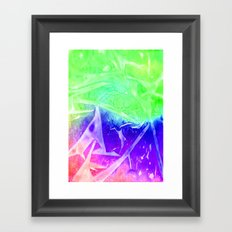 Aurora 3 - Green Sky Framed Art Print