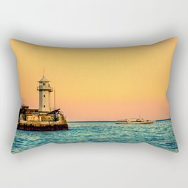 Old Lighthouse Rectangular Pillow