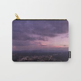 Asheville Stormy Nights Passing By Carry-All Pouch