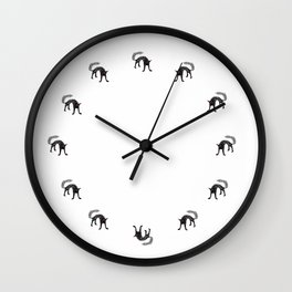 Black Cat 02 Wall Clock