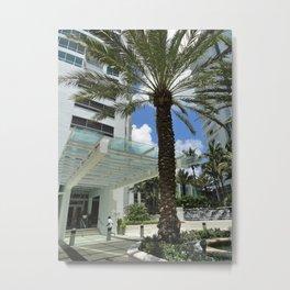Fontainebleau Hotel- Miami South Beach Metal Print