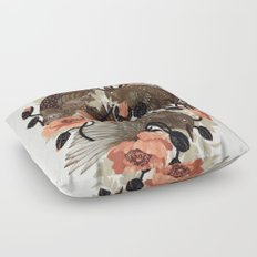 Spangled & Plumed Floor Pillow