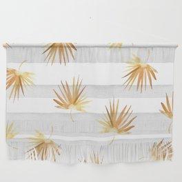 Golden Palm Leaf Wall Hanging