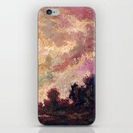 Rosy Clouds iPhone Skin