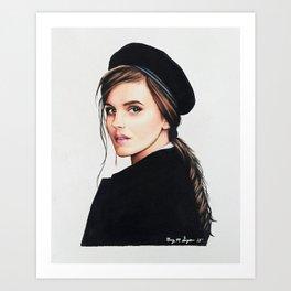 Emma Watson | Drawing Art Print