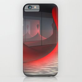 above the water iPhone Case