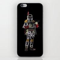 boba iPhone & iPod Skins featuring Boba Font by Fabian Gonzalez