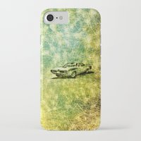 car iPhone & iPod Cases featuring car by Creative Safari