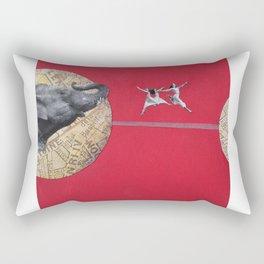 Hoping to Cross Rectangular Pillow
