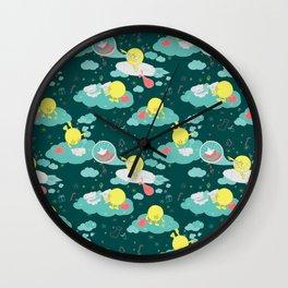 Christmas Adventure Wall Clock