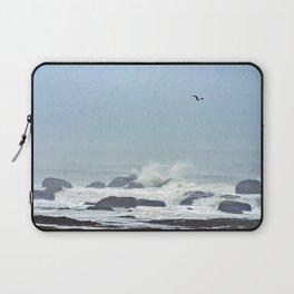 Floating above the crashing waves Laptop Sleeve