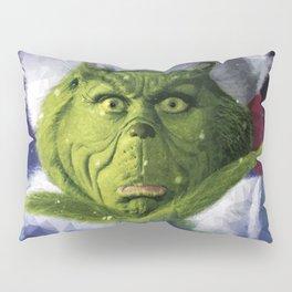 Geometric Grinch Pillow Sham