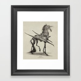 Thestral  Framed Art Print