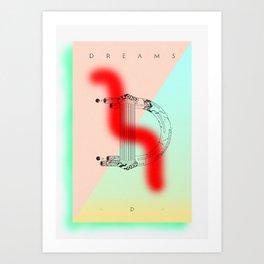 """""""D"""" of DREAMS Art Print"""