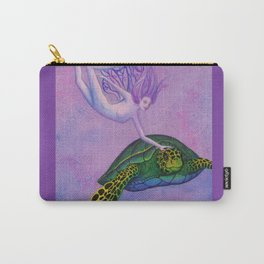 Turtle Fairie Carry-All Pouch