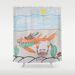 Bottom Dwellers Shower Curtain