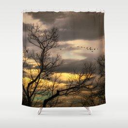 Autumns Eve Shower Curtain