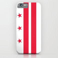 Washington D.C Flag, High Quality image iPhone 6s Slim Case