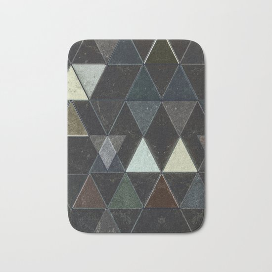 Triangles XXX Bath Mat