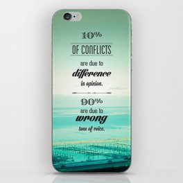 CONFLICTS iPhone Skin