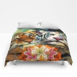 Tiger Lillies Comforters